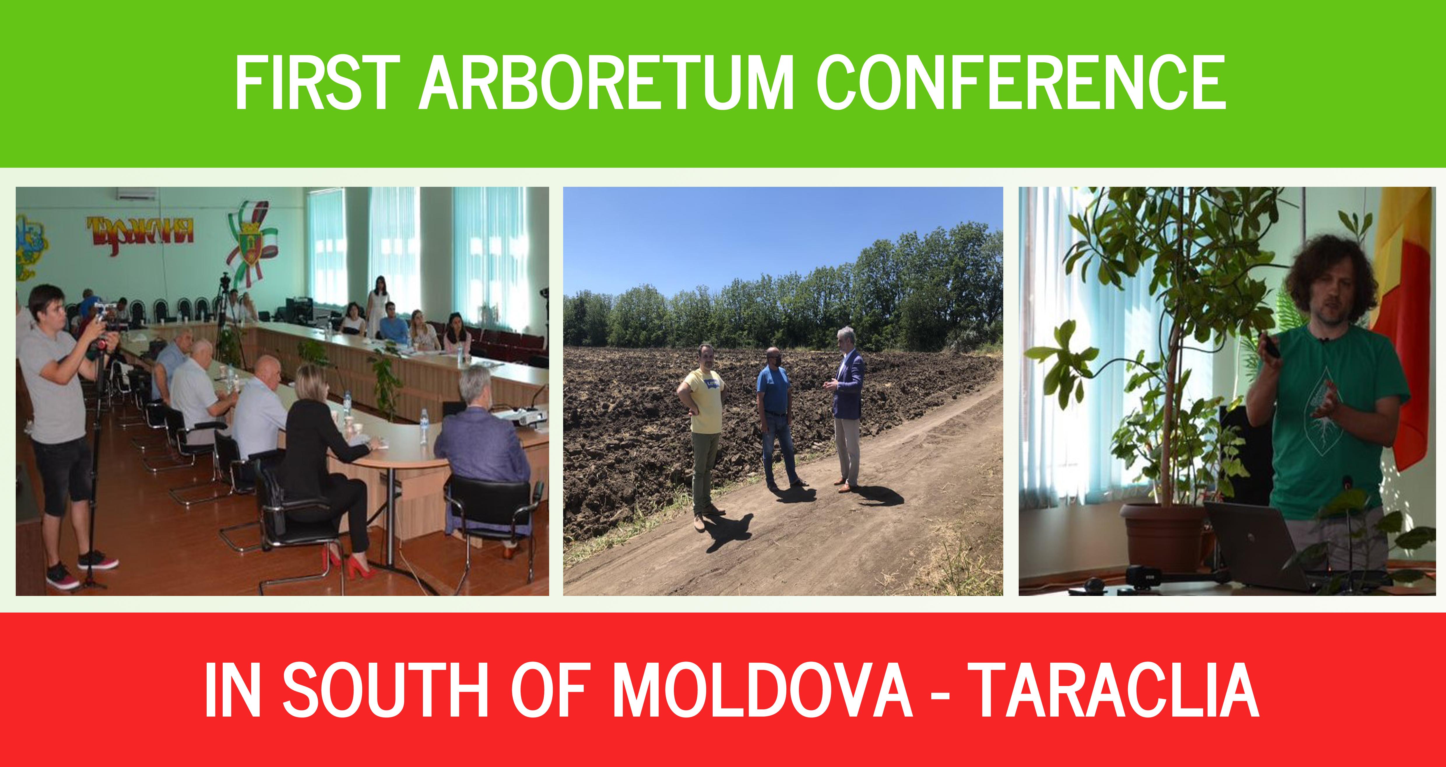 Our first presentation at Taraclia