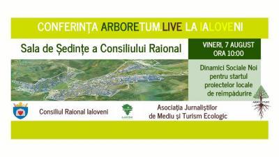 ARBORETUM ÎN CONFERINȚĂ LIVE LA IALOVENI