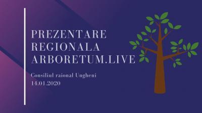 Vă Invităm la Prezenterea Regională ARBORETUM.LIVE (UNGHENI)