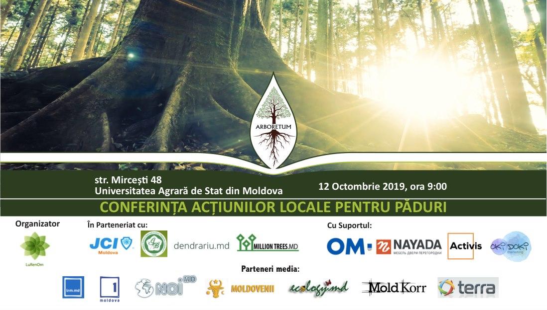 Cover Conferinta Inițiativelor Locale pentru Păduri